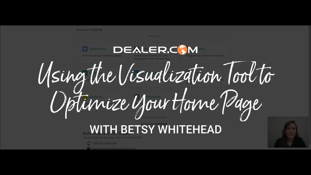 Using the Visualization Tool to Optimize your Home Page with Betsy Whitehead (1)