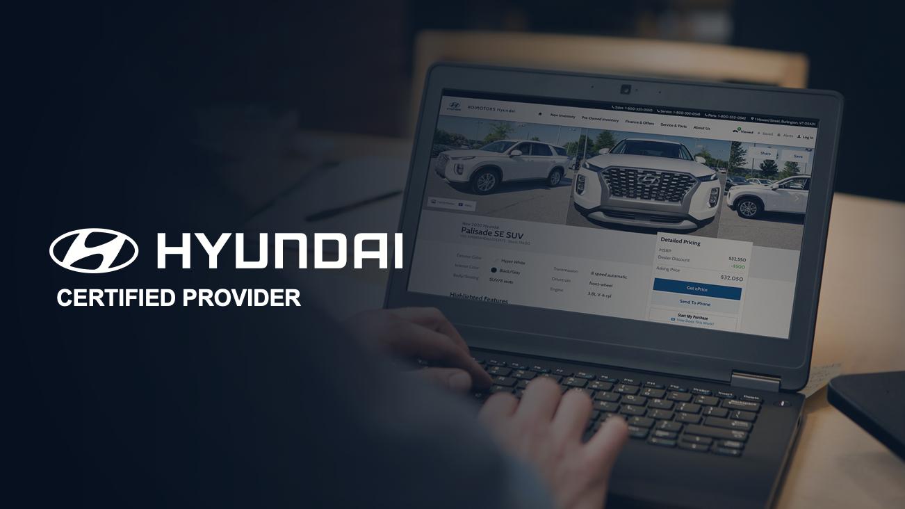 Hyundai Certified Website