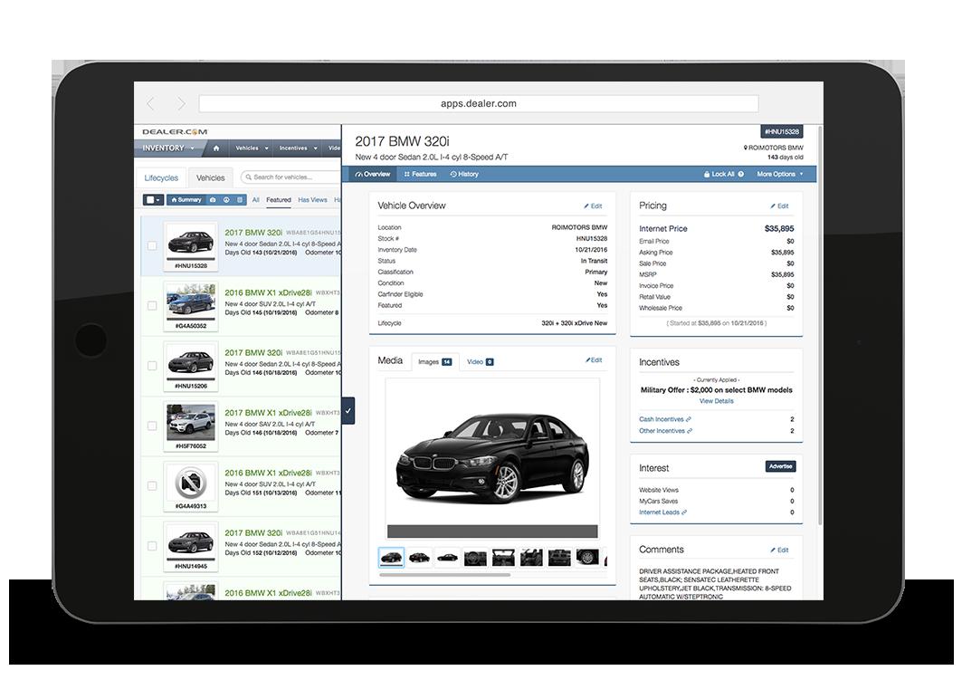 Dealer.com BMW Websites Inventory Merchandising