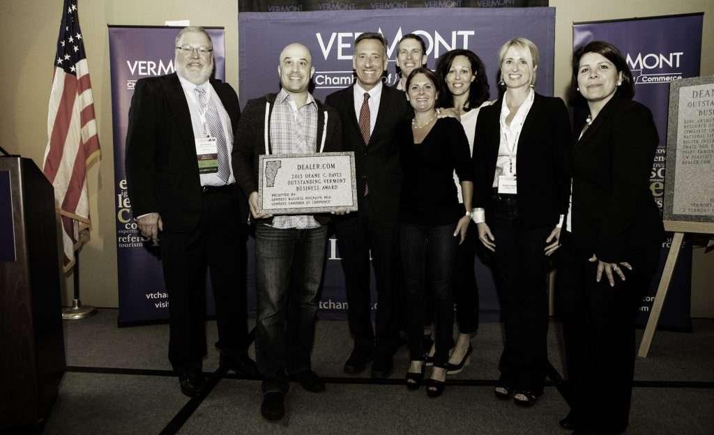 Dealer.com Receives Deane C. Davis Outstanding Business of the Year Award