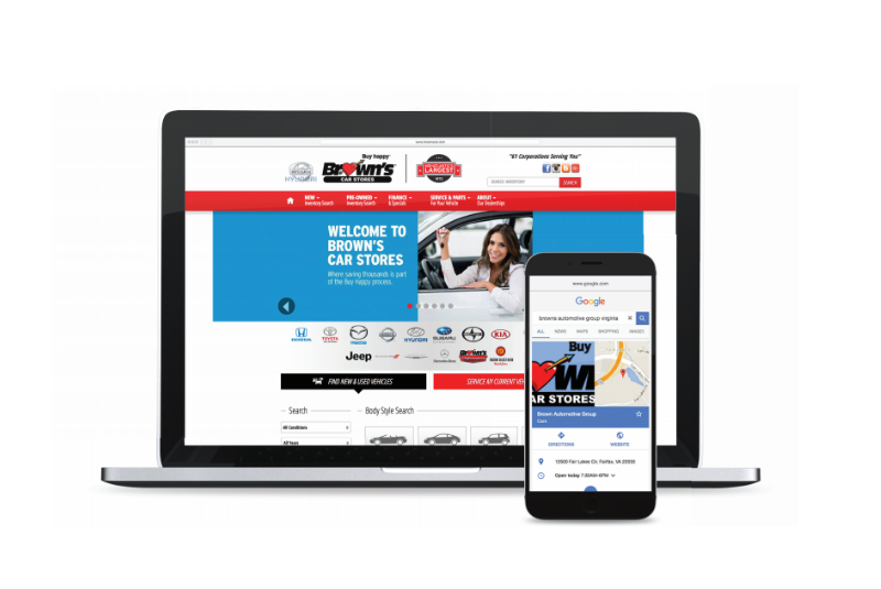 Browns Automotive Success Story with Dealer.com