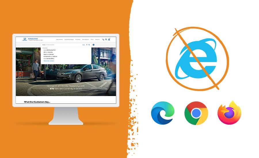 Dealer.com to discontinue support of Internet Explorer 11
