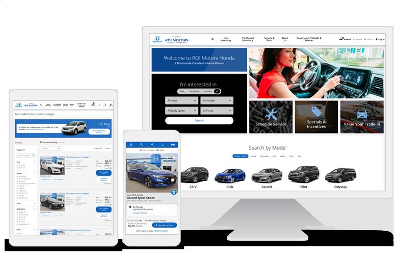 Auto Dealer Websites