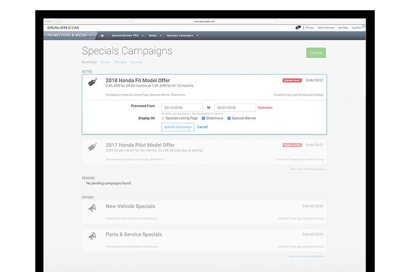 Dealership Website Optimization