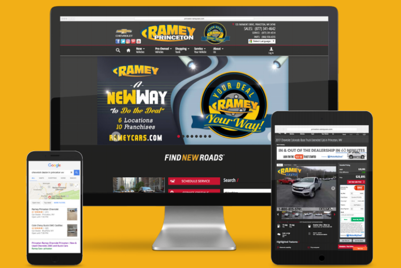 Ramey Automotive Group Success Story with Dealer.com
