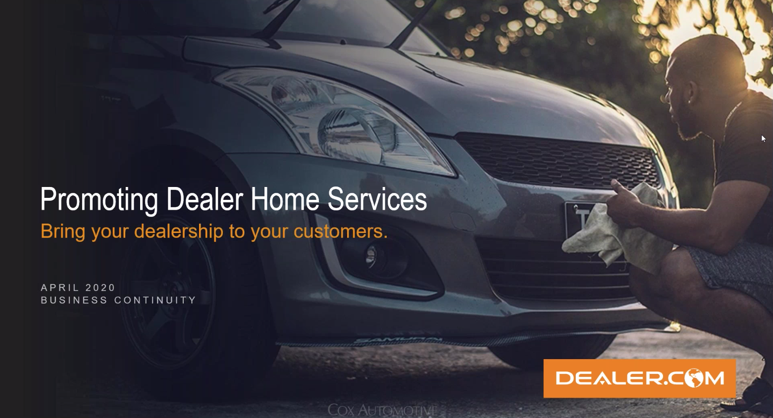 Promoting Dealer Home Services: Bring Your Dealership to Your Customers