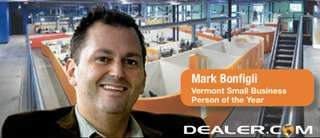 Dealer.com CEO Mark Bonfigli Selected as 2009 Vermont Business Person of the Year